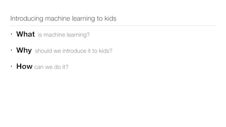 Introducing Machine Learning to kids « dale lane
